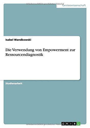 Die Verwendung von Empowerment zur Ressourcendiagnostik (German Edition) ebook
