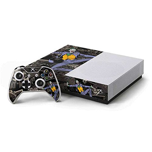 The Joker Xbox One S Console and Controller Bundle Skin - The Joker Mixed Media | DC Comics X Skinit Skin