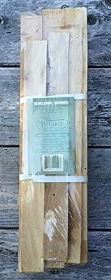 Eastern White Cedar Builder Shims Bundle