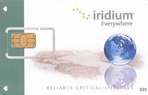 Iridium GO! Prepaid SIM with 1,000 Data Minutes by iridium
