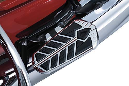 (Kuryakyn 5656 Spear Passenger Floorboard Inserts for 2015-19 Indian Motorcycles, Chrome, 1 Pair )