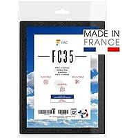 Fac - Filtre Universel de hotte au Charbon Actif à découper Selon Besoin - Taille 47 * 57 cm. - Fabrication 100% Française