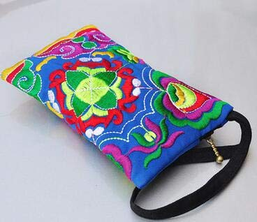 VT BigHome Vintage Embroidery Handmade Fashion Vintage Women Messenger Small Coin Purses Small Wallet Ethnic Embroidery Clutch Bags