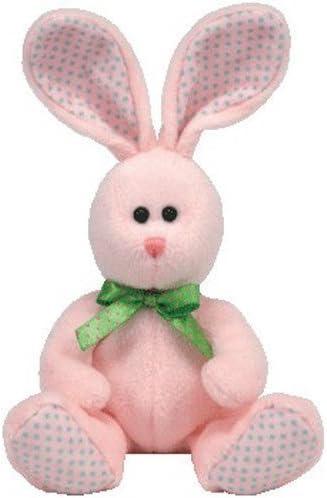 "Ty Pillow Pals Carrots Bunny Rabbit Plush 13/"" Stuffed Animal 1996 Pink NEW"