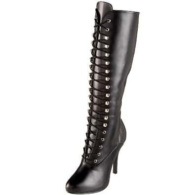 Funtasma by Pleaser Women's Arena-2020 Knee-High Boot,Black PU,6 M US