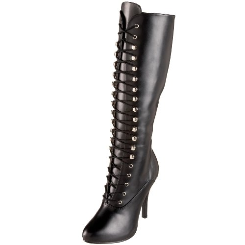 Funtasma by Pleaser Women's Arena-2020 Knee-High Boot,Black PU,10 M US