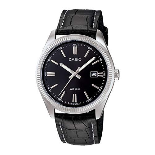 Casio Enticer Men Analog Black Dial Men #39;s Watch   MTP 1302L 1AVDF A489
