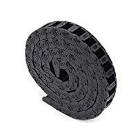 FYSETC Plastic Flexible Nested Semi Colsed Cable Drag Chain 18mm x 25mm 15mm x 30mm 10mm x 15mm Wire Cable Carrier 1M for 3D Printer Parts CNC 3D Mini Electrical Machines Router Mill from Fuyuansheng
