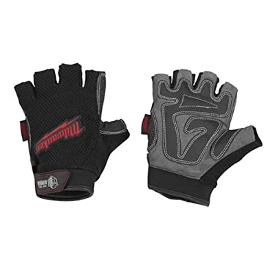 Milwaukee 49-17-0121 Fingerless Work Gloves Medium