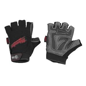 Milwaukee 49-17-0122 Fingerless Work Gloves Large