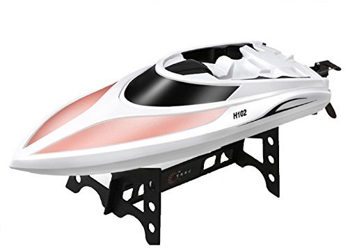 Yeezee Official Store2.4GHz15 MPH High Speed Remote Control BoatWorking in Water RC Racing Boat with Two Hatches [並行輸入品] B077RZJMW9