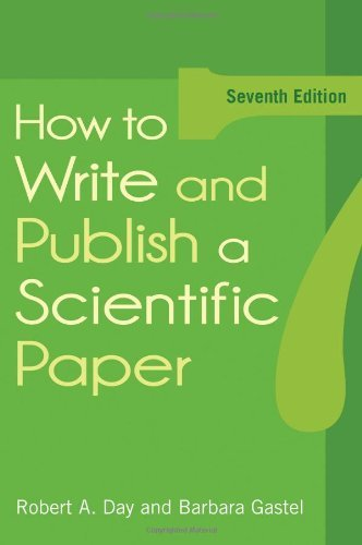 How To Write And Publish A Scientific Paper  English Edition