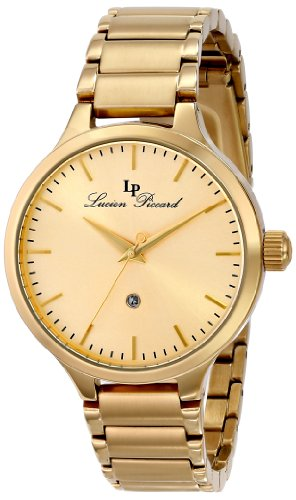 Lucien Piccard Women's LP-12917-YG-10 Lleida Stainless Steel Watch