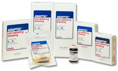 Adaptic Non-Adhering Dressing 3 x 3 in./Qty 50 ()