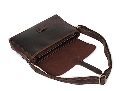 Borse viaggi shopping personalizzate SHOUTIBAO da lavoro Borse necessità tracolla uomo Retro messenger quotidiane a bag FRHSqwx