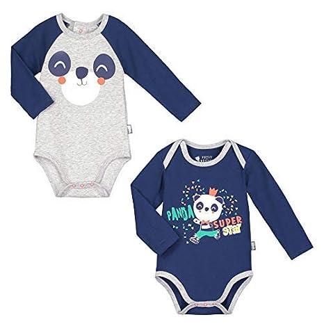 Lot de 2 bodies manches longues bébé garçon Skateparty - Taille - 24 mois  (92 6931d689004