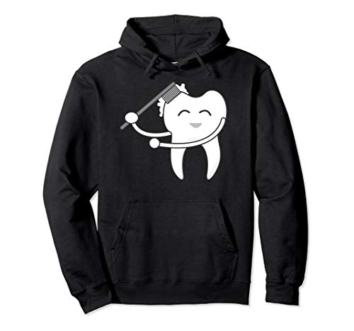 Tooth Doing Floss Dance Hoodie | Cool Flossing Fang -