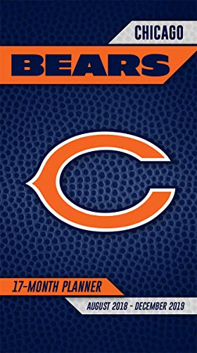 Turner Licensing Chicago Bears 2018-19 17-Month Planner (19998890537) ()