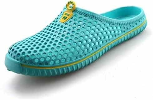 cc06c2c2ba XI LI Unisex Garden Clogs Shoes Slippers Summer Sandals for Women Men Walk  Quick-Dry Lightweight