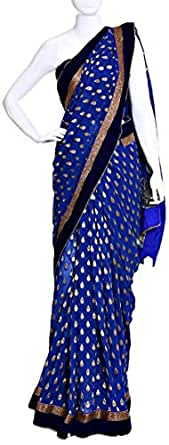 Sarees For Women - Navy Blue