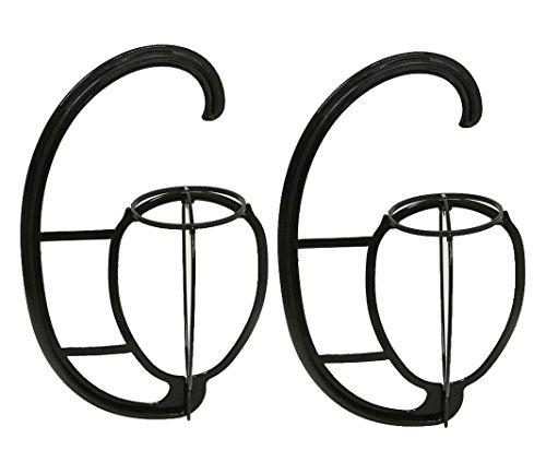 2 Pack Folding Wig Hanger Portable Plastic Wig Hanging Stand Wig Dryer Holder Display Tool for Wigs and Hats by mollensiuer (Image #5)