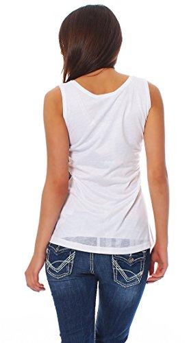 Anna Scott - Camiseta sin mangas - redondo - para mujer