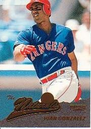 Texas Rangers 2019 Prizm Baseball Base Tier 3 #205 Juan Gonzalez Verzamelkaarten: sport Honkbal