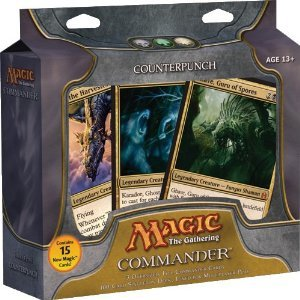 Magic the Gathering - Commander Deck - Counterpunch by Magic: the Gathering