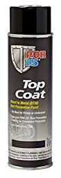 POR-15 46218 Safety Orange Top Coat - 16 OZ