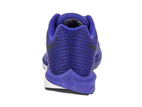 Nike Menns Zoome Winflo 4 Racer Blå / Svart Hvit Løpesko 9,5 Mennene Oss