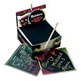 MELISSA and DOUG LCI5945 BOX OF RAINBOW MINI NOTES 125 CARDS