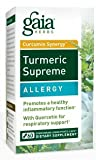 Gaia Herbs. Turmeric Supreme. Allergy. 60 Ct. (2 Bottles) For Sale