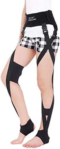 脚矯正ベルト O X-Typeで美脚のための調節可能な脚姿勢コレクター矯正バンドは、回復美容矯正脚 膝ユニセックス
