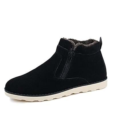 Amazon.com | XIANV Men Shoes Fashion Snow Boots Winter