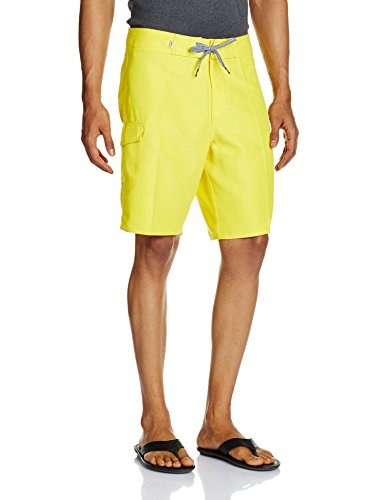 VANS Men's Shorts (8907222043704_VN-00QOMAZ_30_Maize)