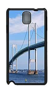 Samsung Note 3 CaseClaiborne Pell Newport Birdge PC Custom Samsung Note 3 Case Cover Black