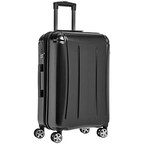 - AmazonBasics Oxford Expandable Spinner Luggage Suitcase with TSA Lock - 28 Inch, Black
