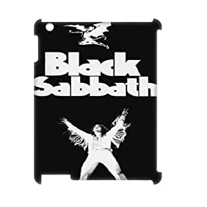 LTTcase Custom BLACK SABBATH 3D Case for ipad 2,3,4