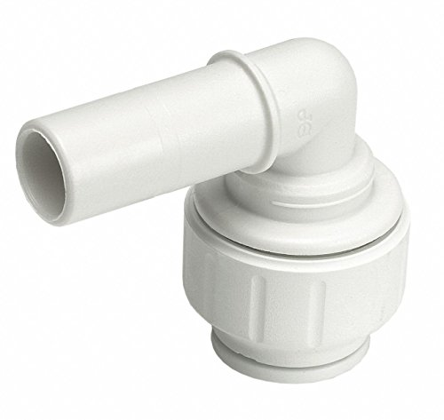 - John Guest Speedfit PEI222828 3/4-Inch Stem by 3/4-Inch Pipe Plug-In Elbow, 5-Pack