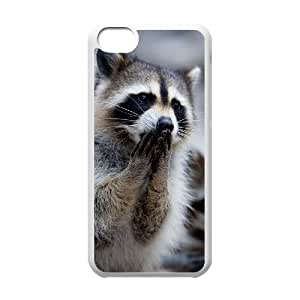 linJUN FENGProtection Cover Hard Case Of Raccoon Cell phone Case For iphone 4/4s