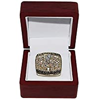 $99 » St. Louis Rams (Kurt Warner) 2000 Super Bowl XXXIV World Champion Rare & Collectible Replica Gold Football Championship Ring with…