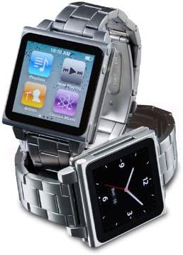 フォーカルポイント 第6世代iPod nano用メタルウォッチバンド HEX-IP-000009