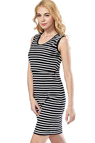 527d438d909 Green Home Women's Striped Short Sleeves Maternity Nursing Dress