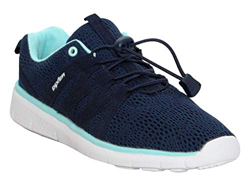 Slip 3 Pumps Casual amp;H Gym Ladies Lightweight 7 A Footwear Womens Sports Shoes UK Sizes Running On Navy Dixer Fitness Trainers 0w6UwAY