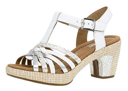 f1d79e45b3 22 scarpe Tacco 736 sandali ba femminile Gabor Weiss Estate scarpe ...