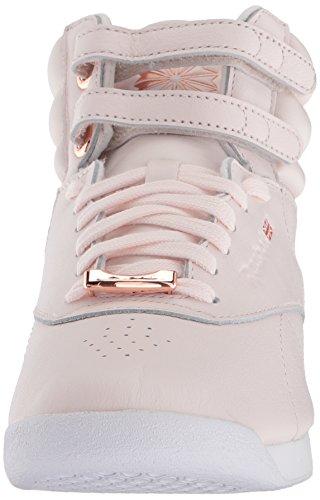 Reebok Womens F / S Hi Scarpe Da Passeggio Silenziose Rosa Pallido / Bianco / Ombra Fresca