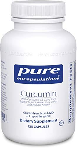Pure Encapsulations - Curcumin - Hypoallergenic Curcumin C3 Complex - 120 Capsules