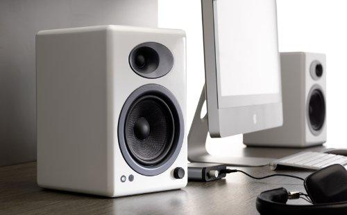 Audioengine A5+ Premium Powered Speaker Pair (White) by Audioengine (Image #2)