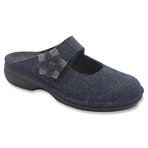 FINNCOMFORT 6560-901198 - Zapatillas para mujer - lightgrey/cassis