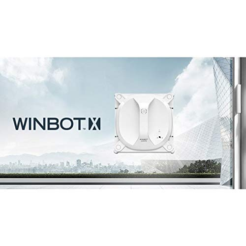 Robot Lavavetri Winbot.Ecovacs Window Cleaning Robot Winbot X White Wa30 Japan Domestic Genuine Products Ships From Japan